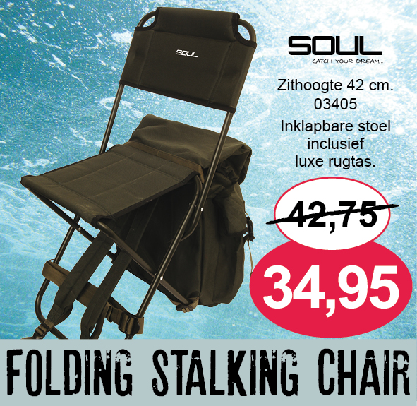 Folding stalking chair